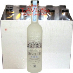 Vodka Belvedere Clear 40% 50ml x10 miniatura