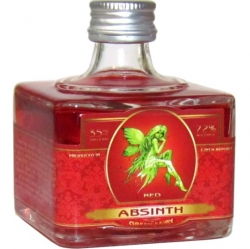 Absinth Sada Fairy Red 72% 40ml miniatura