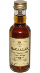 Whisky Macallan 43% 50ml 12years Skotsko miniatura