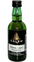 víno Portské White Dry 50ml Cálem miniatura