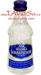 Vodka Gorbatschow Clear 37,5% 40ml miniatura