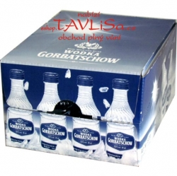 Vodka Gorbatschow Clear 37,5% 40ml x20 miniatura