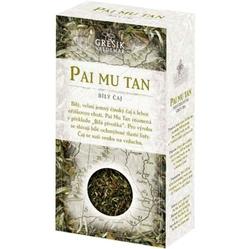 čaj Bílý Pai Mu Tan 50g sypaný Grešík