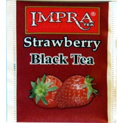 čaj přebal Impra-Tea Strawberry Black Tea