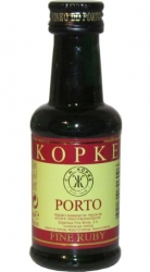 Porto Kopke box Fine Ruby 20% 50ml miniatura