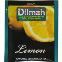 čaj přebal Dilmah Lemon Ceylon Black Tea