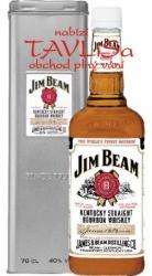whisky Jim Beam 40% 0,7l USA plech