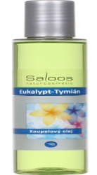 Koupelový olej Eukalypt - Tymián* 1000ml Salus