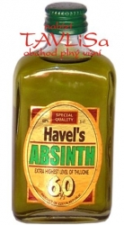 Absinth Havels 60% 50ml miniatura