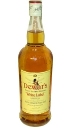 whisky Dewars 40% 1l White Label Skotsko