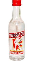Vodka Tovaritch! 40% 50ml Russian vodka Miniatura