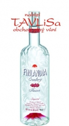vodka Finlandia Cranberry 37,5% 0,7l