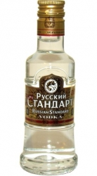 Vodka Russian Standard Gold 40% 50ml miniatura