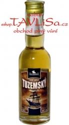 rum Tuzemský Trenčianský Tmavý 40% 40ml miniatura