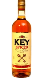 Rum KEY Rum Spiced Gold 35% 1l