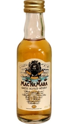 Whisky MacNaMara 40% 50ml miniatura