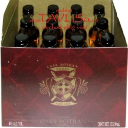 Rum Ron Botran 12 let Anejo 40% 50ml x12 miniatura