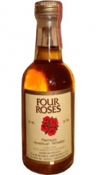 Whisky bourbon Four Roses 40% 50ml miniatura etik4