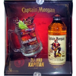 Rum Captain Morgan Spiced Gold 35% 0,7l Korbel