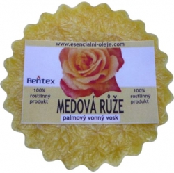 Vonný vosk medová růže 30g Palmový Rentex