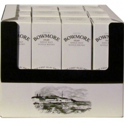 Whisky Bowmore 12 Years 40% 50ml etik2 mini x12