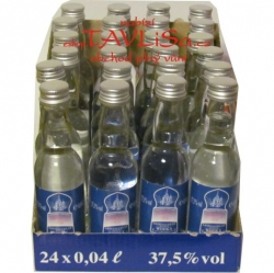 Wodka Fjorowka Clear 37,5% 40ml x24 miniatura