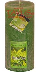 svíčka válec Zelený čaj rustic vonná 220g Rentex