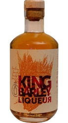 King Barley Whisky Liqueur 35% 0,5l Original etik2