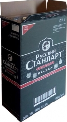 Vodka Russian Standard Original 40% 3l maxi x2 Tub