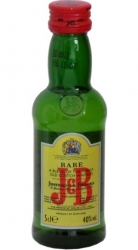 Whisky J&B 40% 50ml Scotland miniatura