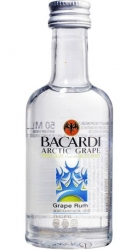 Rum Bacardi Arctic Grape 35% 50ml miniatura
