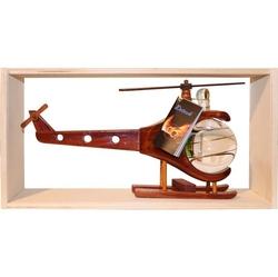sklo Dřevěná helikoptéra 0,2l švestka 40%