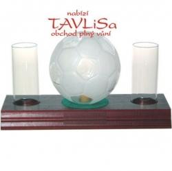 sklo Fotbalový míč 0,35l odlivky