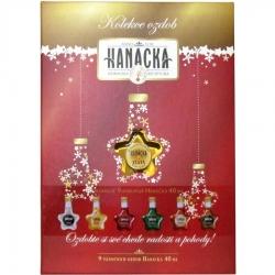Hvězda Sada9 Hanácká Kolekce ozdob 9ks miniatur