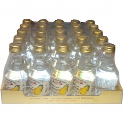 Williams Birnen 35% 40ml x25 Seyringer miniatur