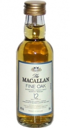 Whisky Macallan 40% 50ml 12years Skotsko miniatura