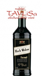 Fernet Black Widow 37,5% 0,5l Dynybyl