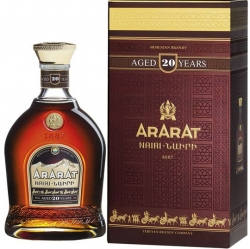 Brandy ARARAT 20 Years 40% 0,7l Box