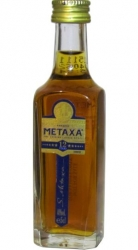 Metaxa 12* 40% 50ml miniatura