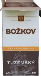 rum Tuzemský 37,5% 3l x 4 kusy Božkov