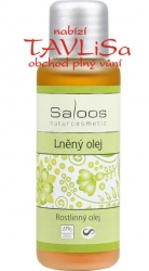 olej rostlinný Lněný 50ml Saloos