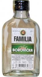 Borovička Spiš 37,5% 100ml Familia malá placatice