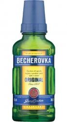 Becherovka 38% 100ml Jan Becher malá placatice