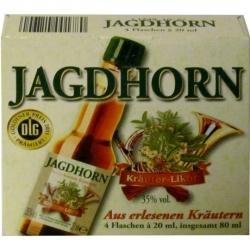 Jagdhorn Krautern Likor 35% 20ml x4 miniatura