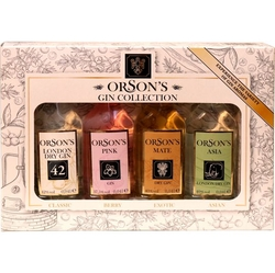 Gin Orsons Sada Collection 40ml x 4ks miniatur