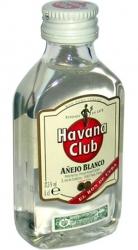 Rum Havana Club Anejo Blanco 37,5% 50ml miniatura