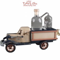 sklo Dřevěné auto 3015 destilační přístroj 0,35l