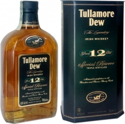 Whisky Tullamore Dew 40% 0,7l 12y
