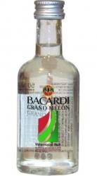 Rum Bacardi Grand Melón 35% 50ml miniatura