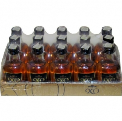 Brandy Stock XO 40% 50ml x15 miniatura